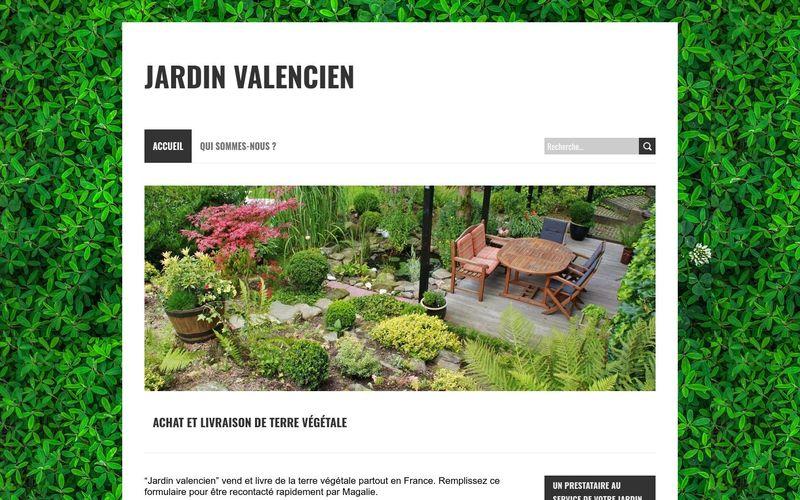 Livraison de terre végétale avec Jardin Valencien