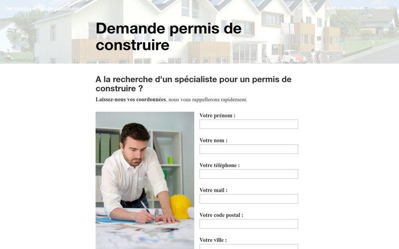 Obtenir de l'aide pour une demande de permis de construire