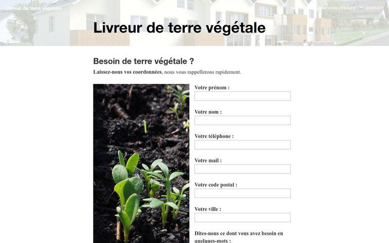 A la recherche d'un livreur de terre végétale ?