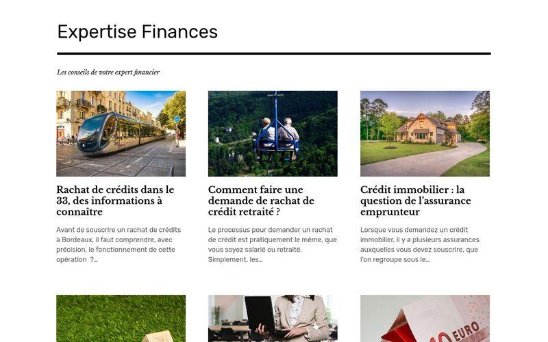 Expertise Finances - Les conseils de votre expert financier