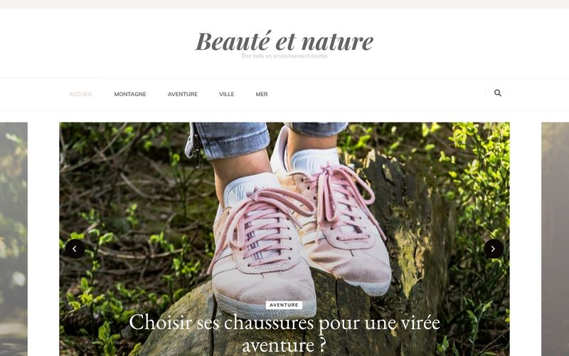 Beauté et nature - Être belle en environnement hostile