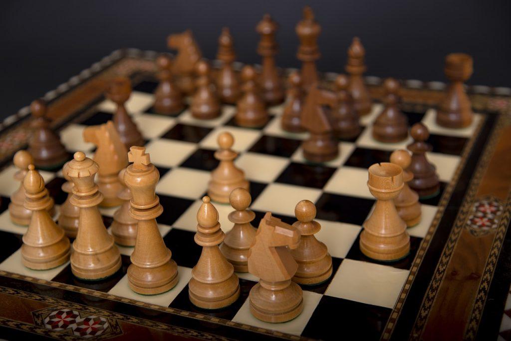 Les liens entre les échecs et les maths