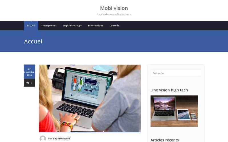 Mobi vision - Le site des nouvelles technos